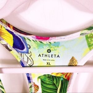 "Athleta Tops - Athleta | ""Tropical Chi"" workout tank"